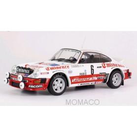PORSCHE 911SC 6 WALDEGAARD/THORSZELIUS RALLYE MONTE CARLO 1982