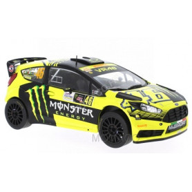 "FORD FIESTA RS WRC 46 ""MONSTER"" ROSSI/CASSINA RALLYE MONZA 2015"