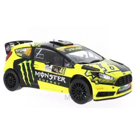 "FORD FIESTA RS WRC 46 ""MONSTER"" ROSSI/CASSINA RALLYE MONZA 2015"
