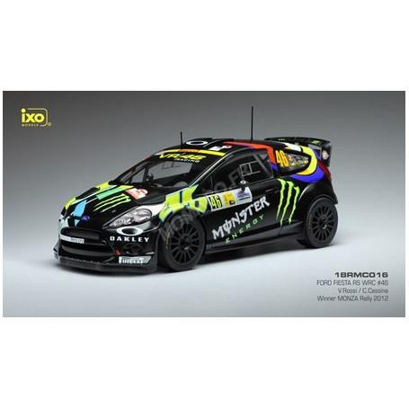 FORD FIESTA RS WRC 46 ROSSI/CASSINA RALLYE MONZA 2012