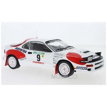 TOYOTA CELICA GT-4 ST185 9 ALEN/KIVIMAKI RALLYE PORTUGAL 1992