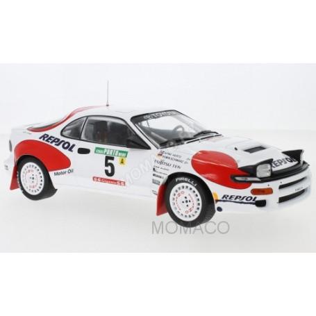 TOYOTA CELICA GT QUATRE ST185 5 SCHWARZ/HERTZ RALLYE PORTUGAL 1992