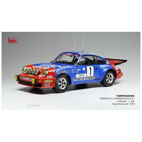 PORSCHE 911 CARRERA RS 1 NICOLAS/TODT RALLYE WM RALLYE MONTE CARLO 1979
