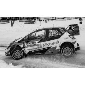 TOYOTA YARIS WRC 8 TANAK/JARVEOJA RALLYE DE SUEDE 2019