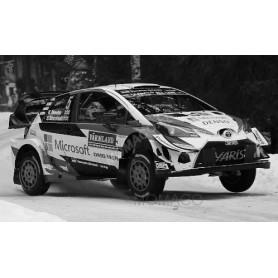 TOYOTA YARIS WRC 5 MEEKE/MARSHALL RALLYE DE SUEDE 2019