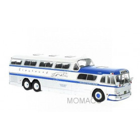 GREYHOUND SCENICRUISER 1956 GRIS/BLEUE
