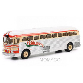 GMC PD 3751 TRAILWAYS 1955