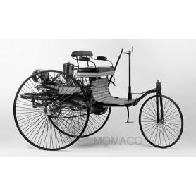MERCEDES-BENZ BREVET VOITURE AUTOMOBILE 1886 NOIRE/ROUGE