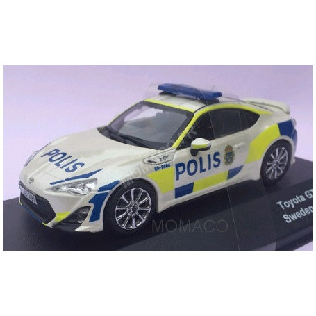 TOYOTA GT86 POLICE SUEDE 2013