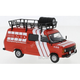 FORD TRANSIT MKII RALLYE ASSISTANCE R-E-D 1985