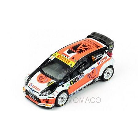FORD FIESTA RS WRC 8 KUBICA/BENEDETTI RALLYE MONZA 2014