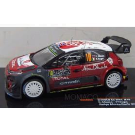 CITROEN C3 WRC 10 MEEKE/NAGLE  RALLYE MONTE CARLO 2018