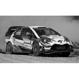 TOYOTA YARIS WRC 9 RALLYE WM E. LAPPI/J. FERM RALLYE ITALIE 2018