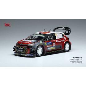CITROEN C3 WRC 10 RALLYE WM M.OSTBERG/T.ERICKSEN RALLYE FINLANDE 2018