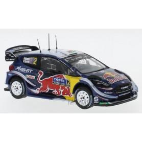 FORD FIESTA WRC 2 EVANS/BARRIT RALLYE FINLANDE 2018