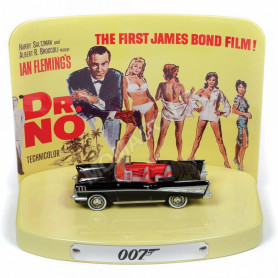 "CHEVROLET BEL AIR 1957 ""JAMES BOND 007 - Dr NO (1962)"""
