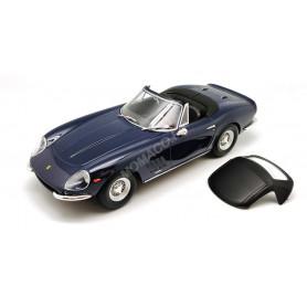 FERRARI 275 GTB/4 NART SPYDER 1967 BLEUE JANTES A RAYONS