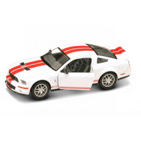 FORD MUSTANG SHELBY GT500 2007 BLANCHE/ROUGE