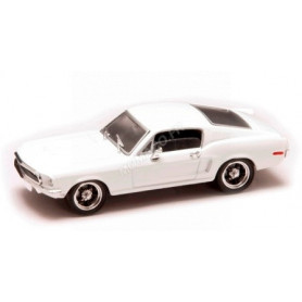 FORD MUSTANG GT 1968 BLANCHE