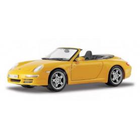 PORSCHE 911 CARRERA S CABRIOLET 2005 JAUNE