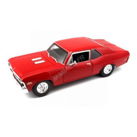 CHEVROLET NOVA SS COUPE 1970 ROUGE (EPUISE)