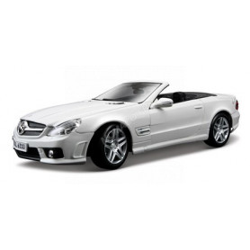 MERCEDES-BENZ SL63 AMG 2009 BLANCHE (EPUISE)