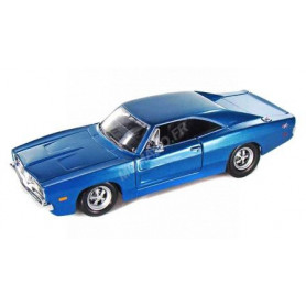 DODGE CHARGER R/T 1969 BLEUE
