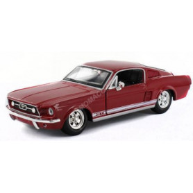 FORD MUSTANG GT 1967 ROUGE