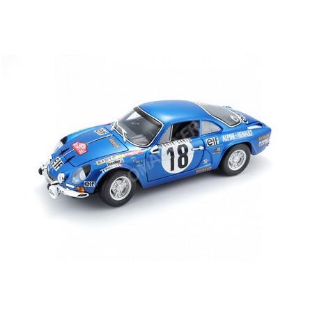 RENAULT ALPINE A110 1600S 18 ANDRUET/BICHE RALLYE MONTE CARLO 1973