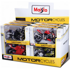 "DISPLAY DE 12 PIECES : MOTOS ""SPECIAL EDITION"""