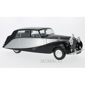 ROLLS-ROYCE SILVER WRAITH EMPRESS BY HOOPER 1956 NOIRE/ARGENT