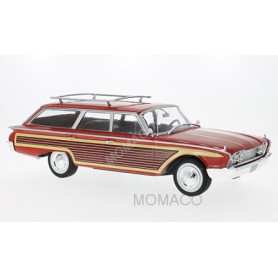 FORD SQUIRE WOODY 1960 ROUGE (EPUISE)
