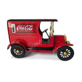 """FORD MODEL T CARGO VAN """"COCA-COLA"""" 1917 ROUGE (EPUISE)"""