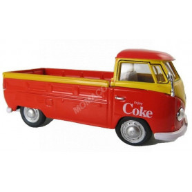 "VOLKSWAGEN T1 PICK-UP ""COCA-COLA"" 1962 ROUGE/JAUNE"