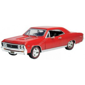 CHEVROLET CHEVELLE SS 396 1967 ROUGE