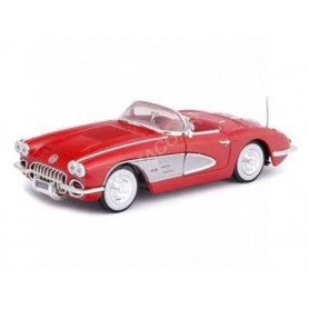 CHEVROLET CORVETTE 1958 ROUGE