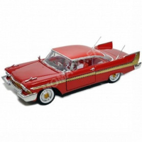 PLYMOUTH FURY 1958 ROUGE