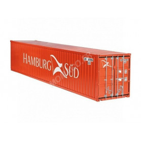 "CONTAINER 40FT ""HAMBURG SUD"" ORANGE"