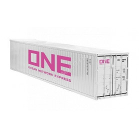 """CONTAINER 40FT """"ONE"""" BLANC"""