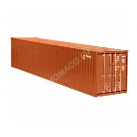 CONTAINER 40FT MARRON