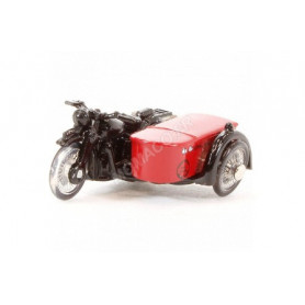 BSA MOTORCYCLE AND SIDECAR ROYAL MAIL