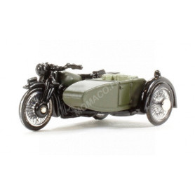 BSA MOTORCYCLE AND SIDECAR 34TH ARMOURED BRIGADE 1945