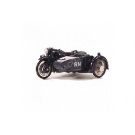 BSA MOTORCYCLE AND SIDECAR ROYAL NAVY
