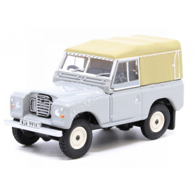 LAND ROVER SERIE III SWB CANVAS GRIS