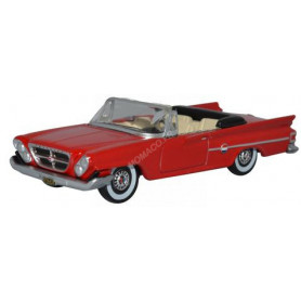 CHEVROLET 300 CONVERTIBLE OUVERT 1961 ROUGE