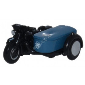 BSA MOTORCYCLE AND SIDECAR RAC