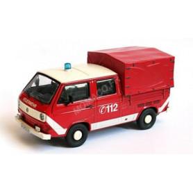 VW T3 PLATEAU DOUBLE CABINE POMPIER