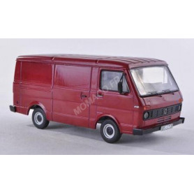 VW LT28 FOURGON ROUGE