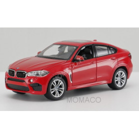 BMW X6M ROUGE