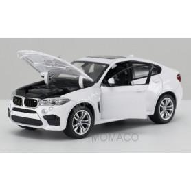 BMW X6M BLANCHE